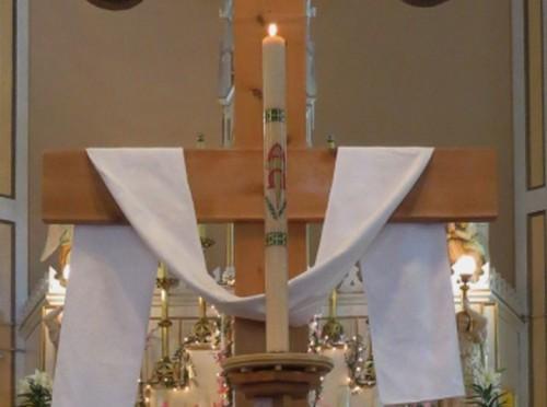 Easter Cross at St. Stephen